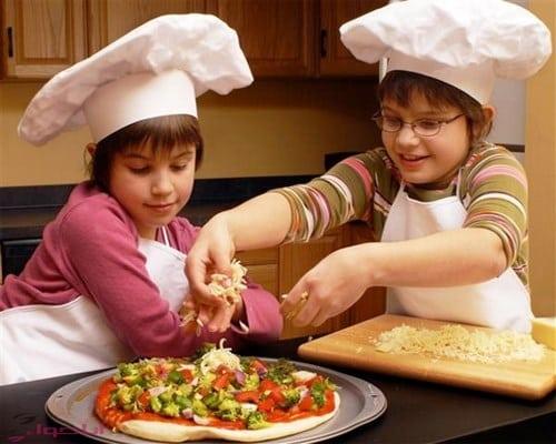 طريقة عمل البيتزا مثل المطاعم