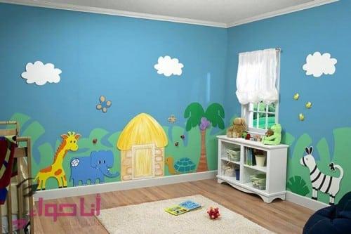دهانات غرف اطفال (10)