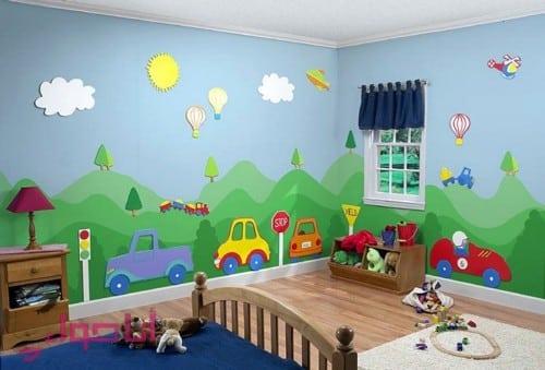 دهانات غرف اطفال (9)