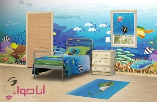 ديكورات غرف نوم اطفال (1)