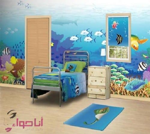 ديكورات غرف نوم اطفال (6)