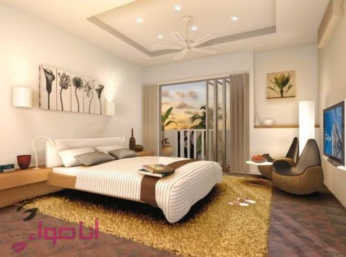 Modern pop false ceiling classy ceiling design for master bedroom - Modern Pop False Ceiling Classy Ceiling Design For Master Bedroom 7