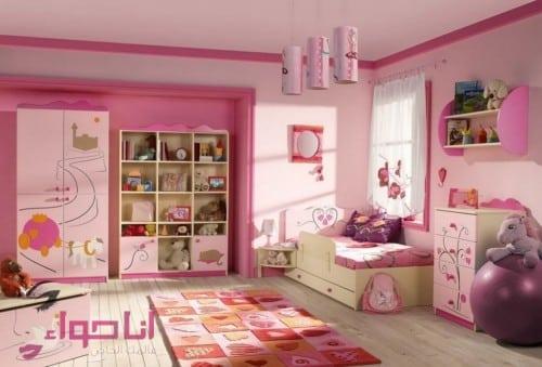 غرف نوم بنات (12)
