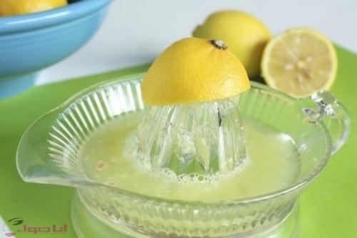 طريقة عمل عصير الليمون طارزج