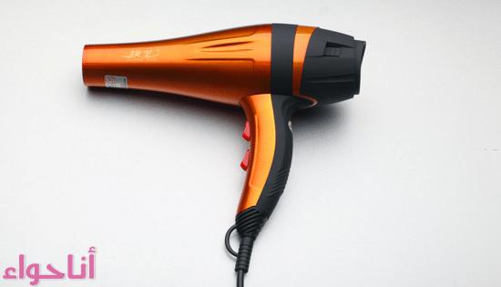 أضرار مجفف الشعر -2