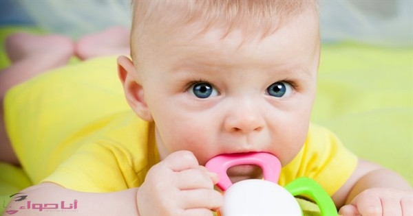 اعراض التسنين عند الاطفال