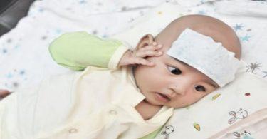 ارتفاع الحرارة عند الأطفال الرضع