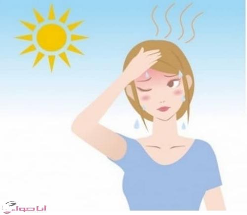 الاسعافات الاولية لعلاج ضربات الشمس