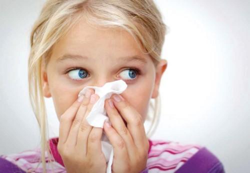 علاج الزكام عند الأطفال