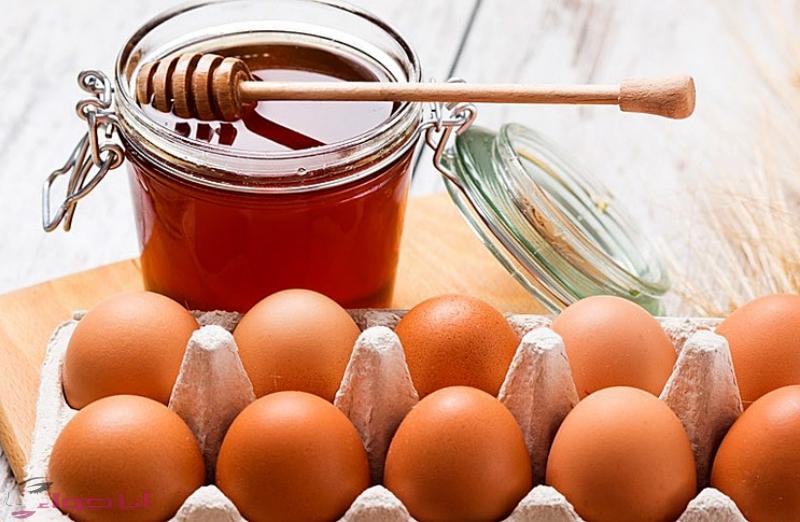 البيض والعسل