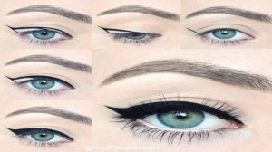 طريقة تحديد العين بواسطة الايلاينر