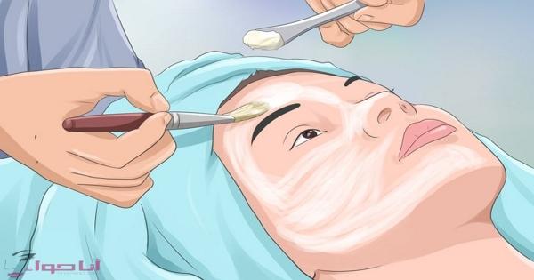 ماسك طبيعي لتقشير الوجه