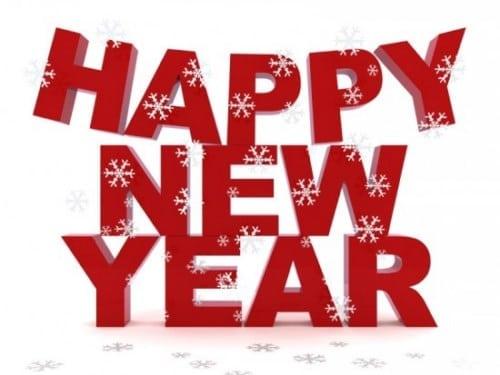 اجمل الكلمات للعام الجديد happy new year