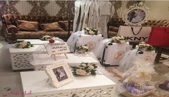 تجهيزات العروس