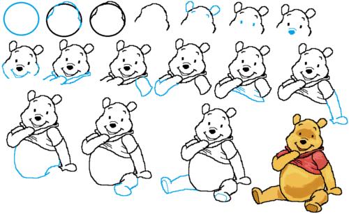 طريقة رسم بوه