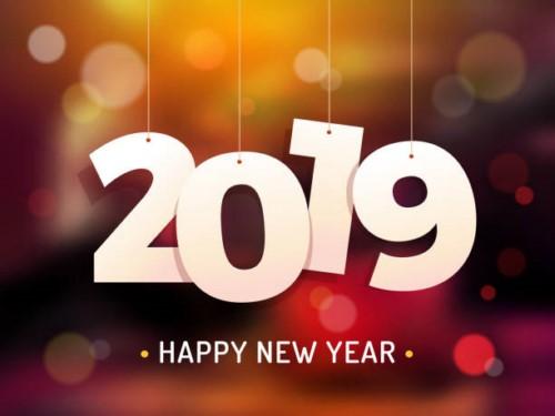 happy new year2019
