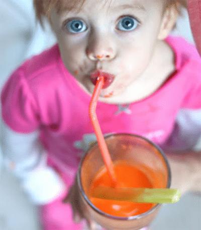 فوائد عصير الجزر للأطفال
