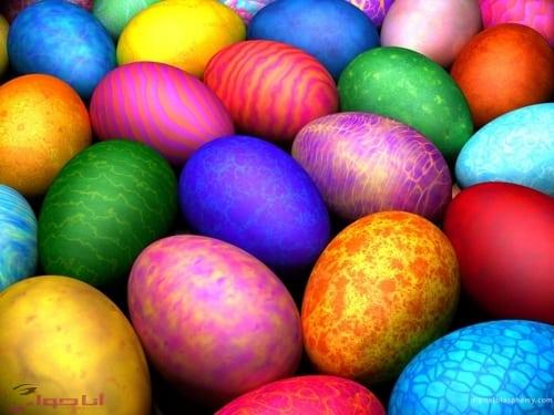بيض شم النسيم بالصور