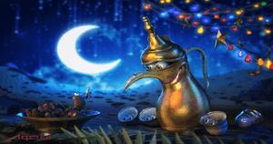 دعاء وتهنئة بشهر رمضان المبارك -2