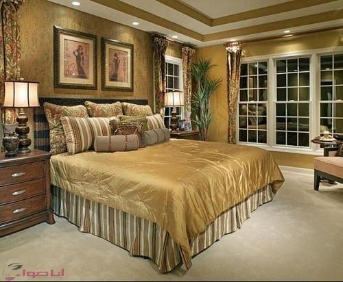جبس غرف نوم رومانسية