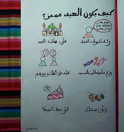 رسائل عيد الفطر للاصدقاء