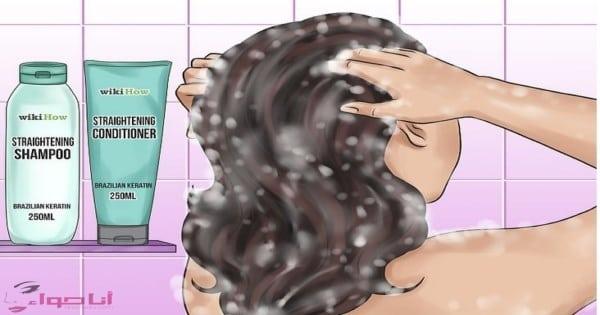 25 وصفة لتنعيم الشعر