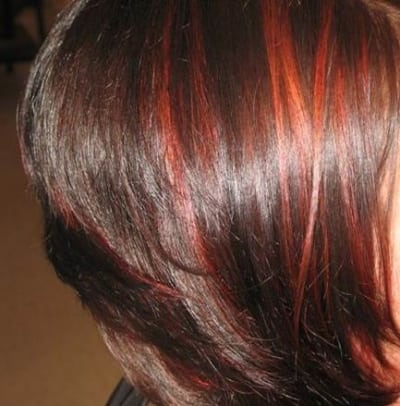 احدث الوان الشعر للبشرة القمحية