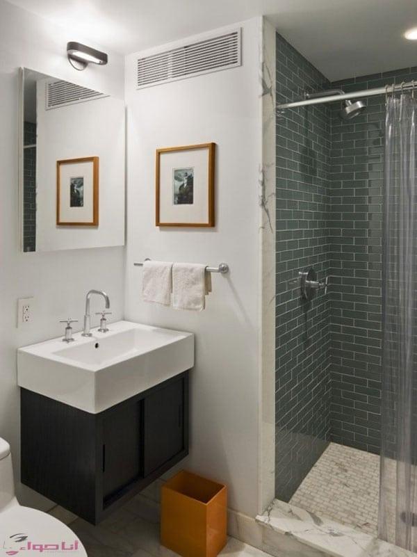 تصاميم سيراميك حمامات صغيرة