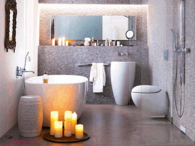 ديكور حمامات بسيطة