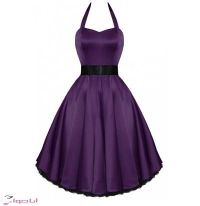 فستان سهرة قصيرة فخمة