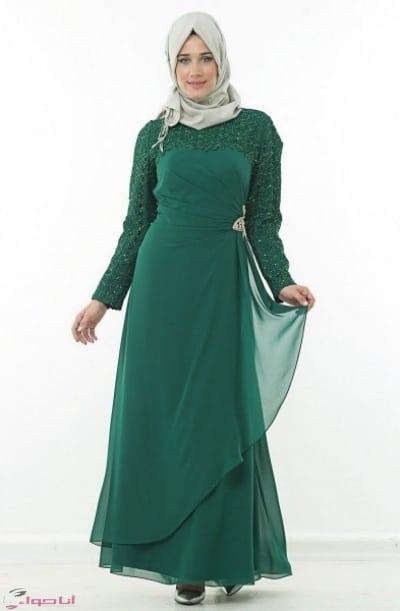 فستان سهرة للسمينات في الرياض