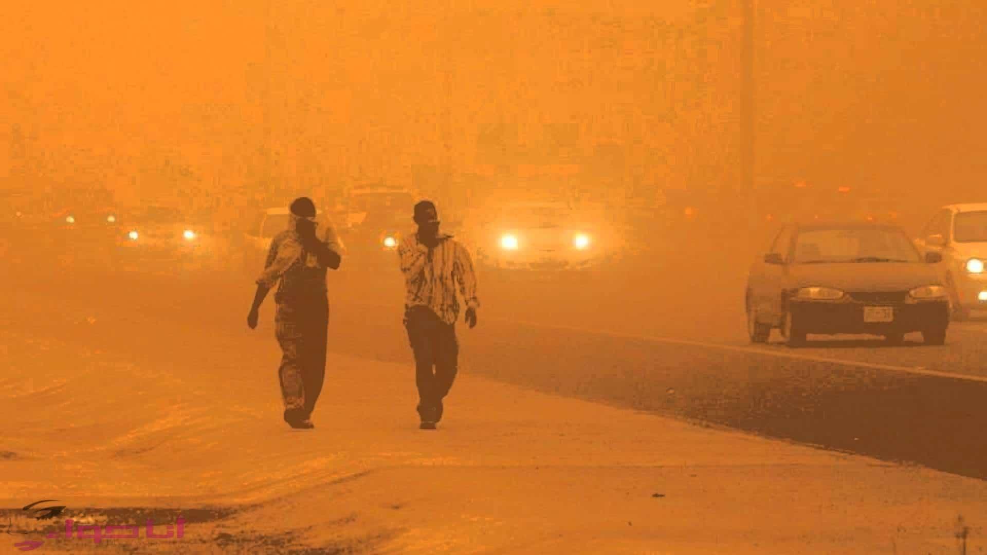العاصفة الترابية في مصر