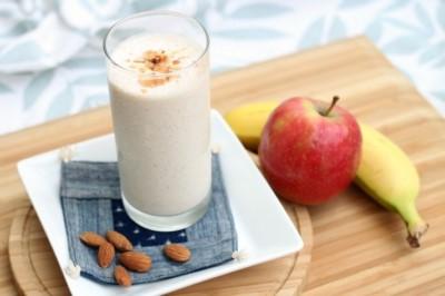 طريقة عمل سموثي التفاح