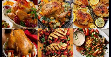 طريقة عمل أكلات بالدجاج