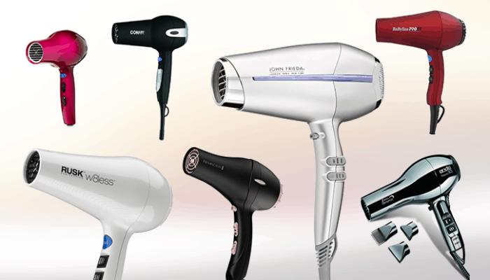 انواع سشوار الشعر
