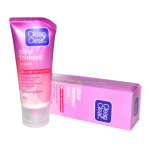 Clean and Fairness Cream