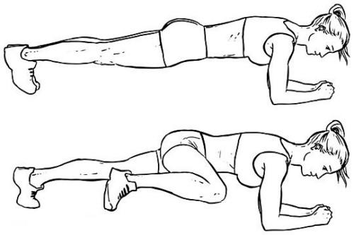 تمرين Spider Plank